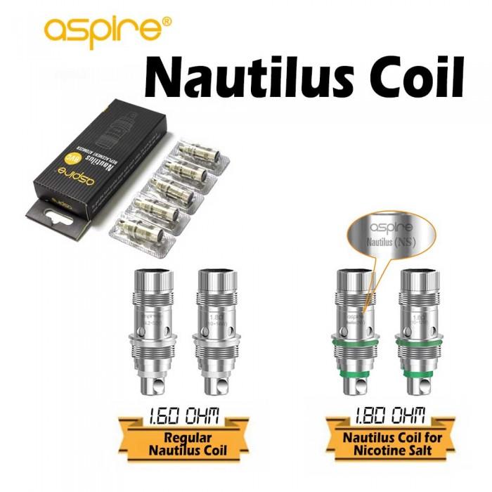 Aspire Nautilus Coils For Nautilus Aio (5 Pcs/Pack)