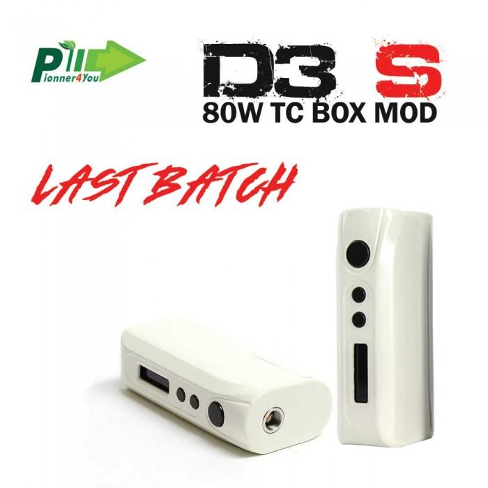 IPV D3S 80W TC BOX MOD _ WHITE