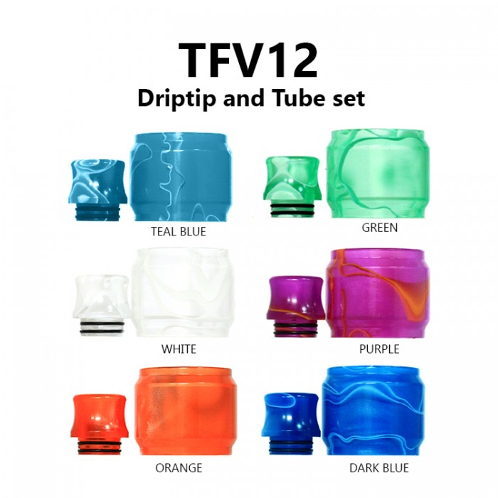 Replacement Tube & Driptip Set - TFV12