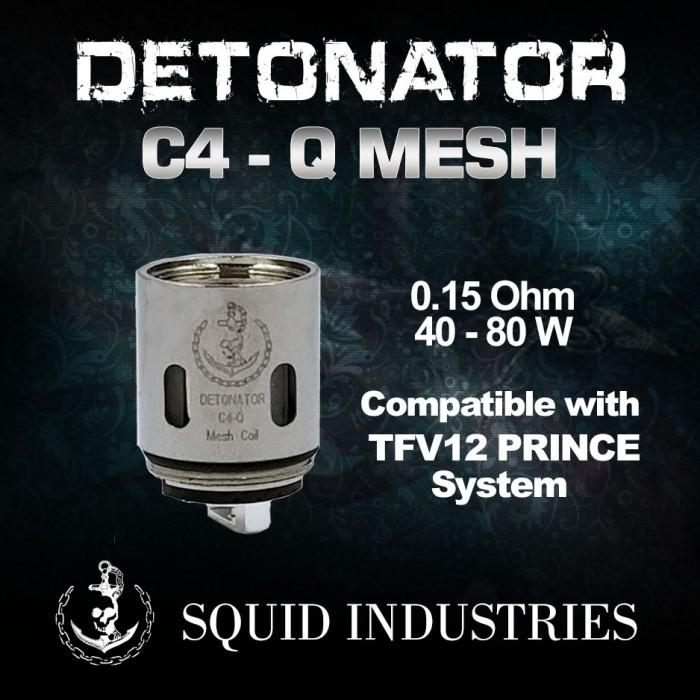 Squid Industries - DETONATOR C4-Q MESH Coils (3pcs/pack)